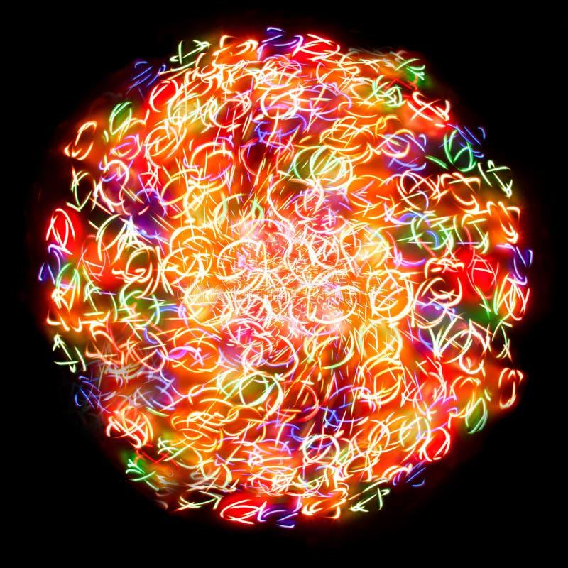 Светлая сфера стоковое изображение