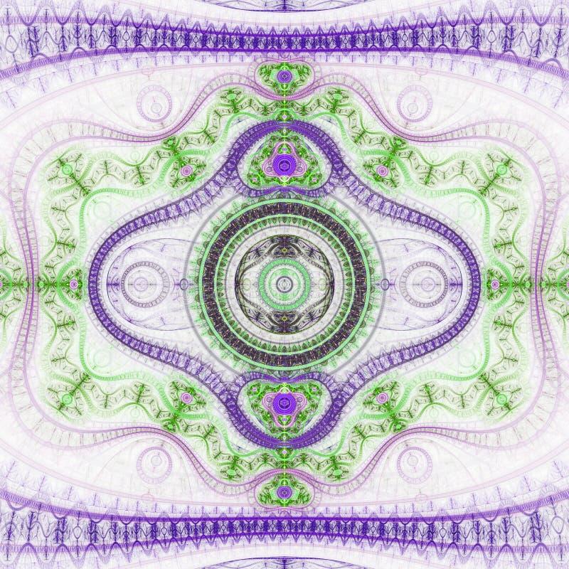Светлая текстура clockwork фрактали бесплатная иллюстрация