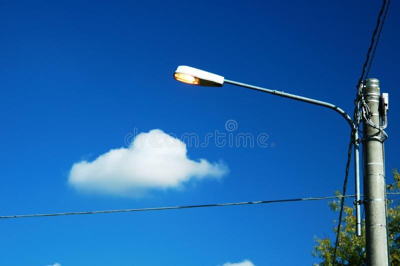 светлая улица стоковая фотография