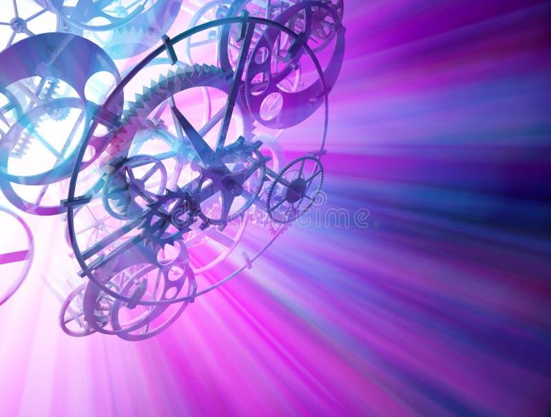 светлое время иллюстрация вектора