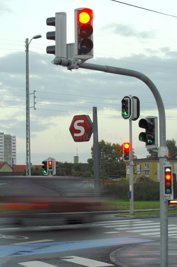 светлое движение стоковое изображение