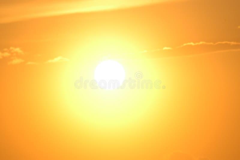 светлое солнце стоковые фотографии rf