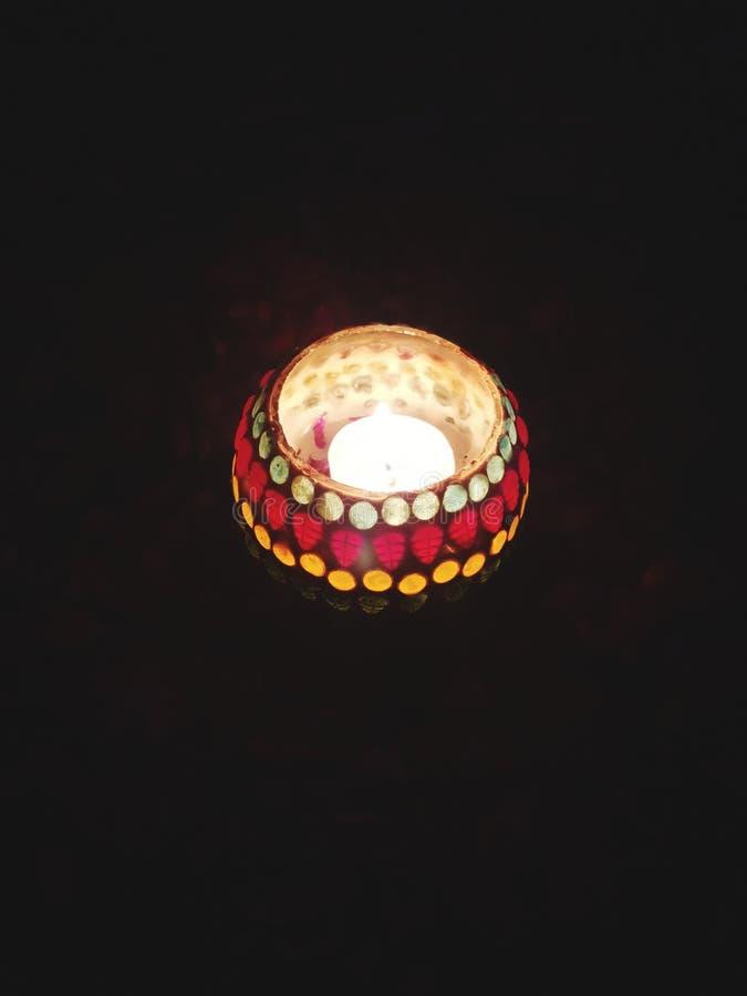 Светлое украшение стоковое фото