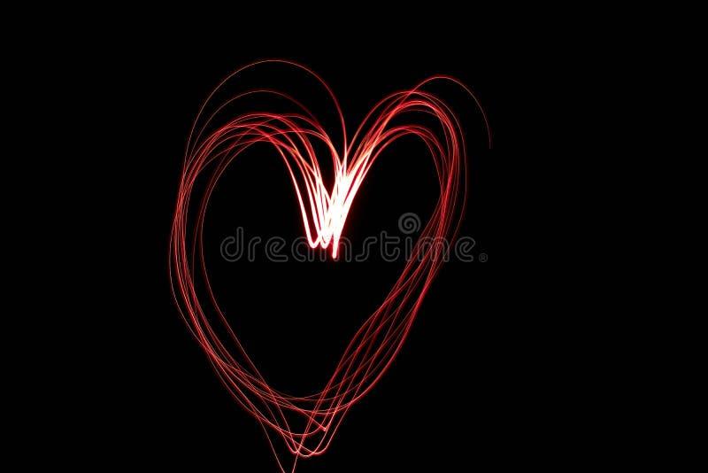 Светлые влюбленность и приятельство картины стоковое фото rf