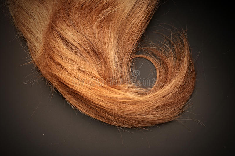 Светлые волосы стоковое фото