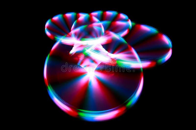 светлые штриховатости вращения картины стоковые изображения rf