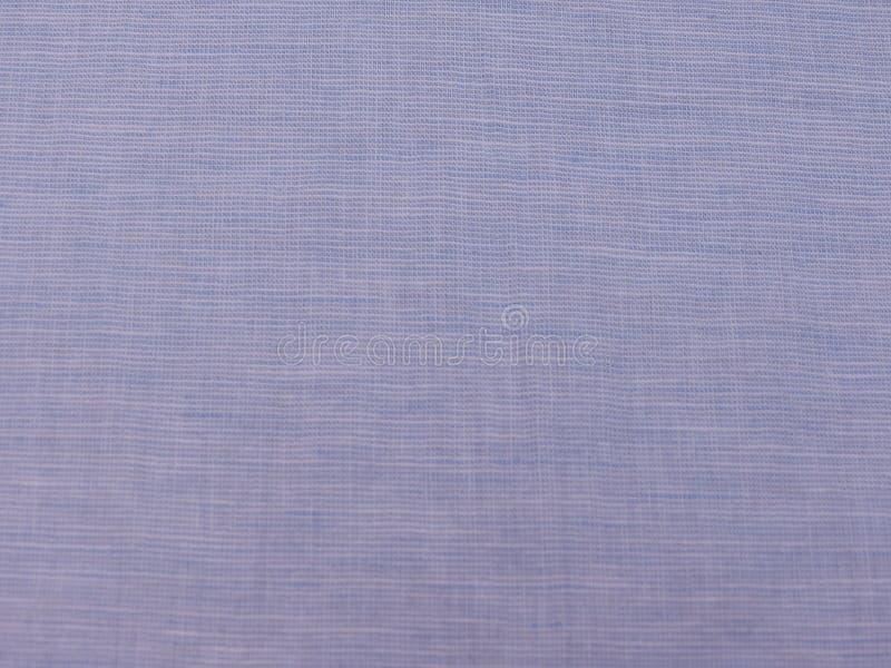 Светлый - голубая текстура хлопко-бумажной ткани стоковая фотография rf