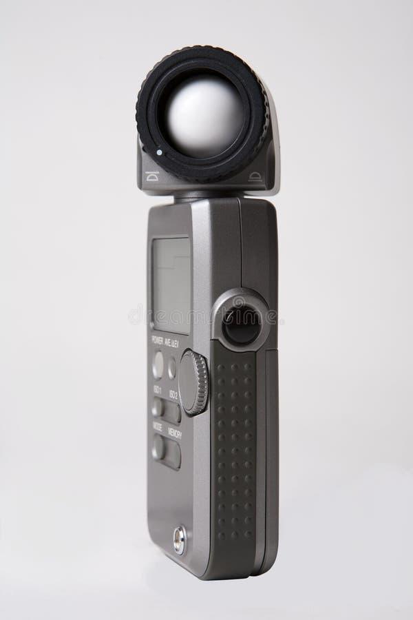 светлый метр стоковое изображение rf