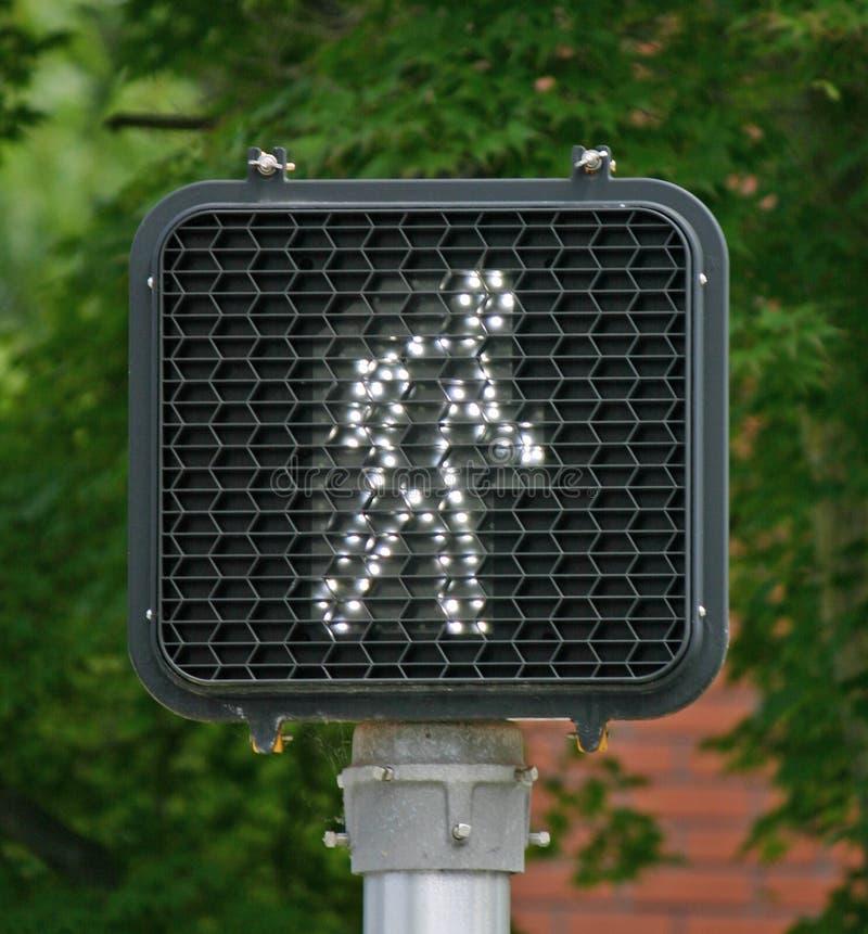 светлый пешеход стоковое фото