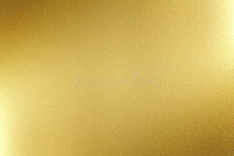 Светлый светить на доске металла золота, абстрактной предпосылке текстуры бесплатная иллюстрация