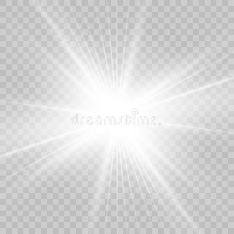 Светлый специальный эффект пирофакела также вектор иллюстрации притяжки corel стоковые изображения rf