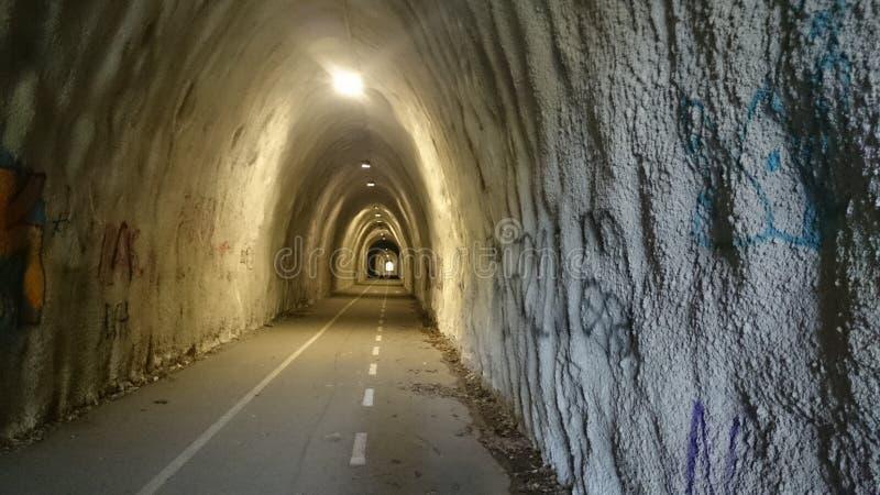 светлый тоннель стоковое изображение rf