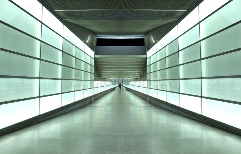 светлый тоннель стоковая фотография