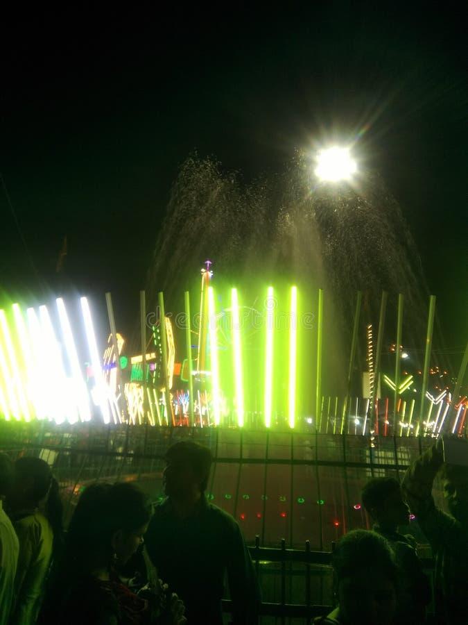 Светлый фонтан стоковые фото