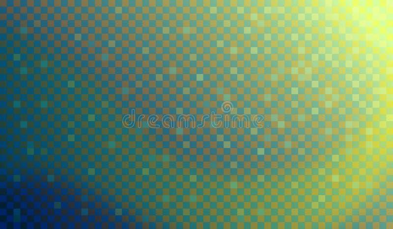 Световая волна мозаики стоковая фотография