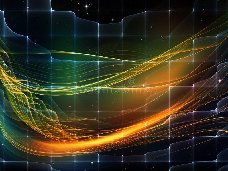Download световая волна иллюстрация штока. иллюстрации насчитывающей backhoe - 40589152
