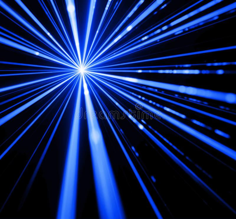 Световой эффект лазерного луча стоковая фотография