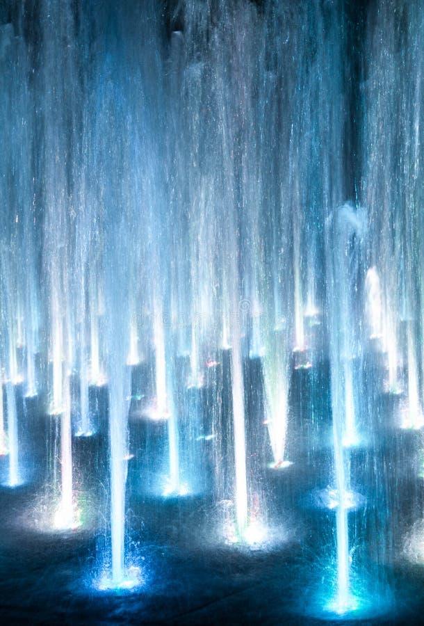 световые лучи cyberspace Голубая абстракция Справочная информация стоковое изображение rf