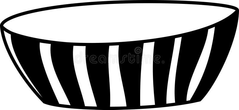 Светотеневой striped шар стоковое изображение