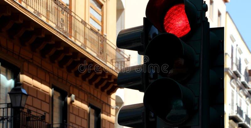 Светофоры, красные стоковое изображение