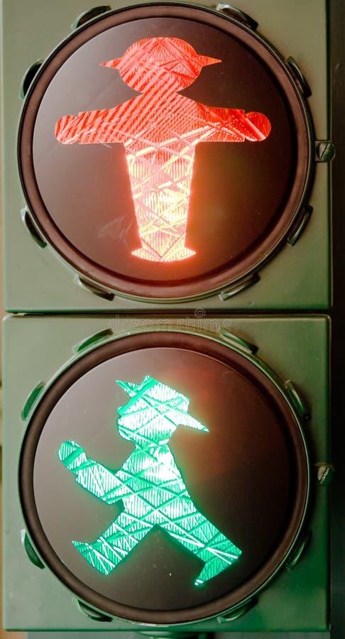 Светофор ГДР стоковые фото
