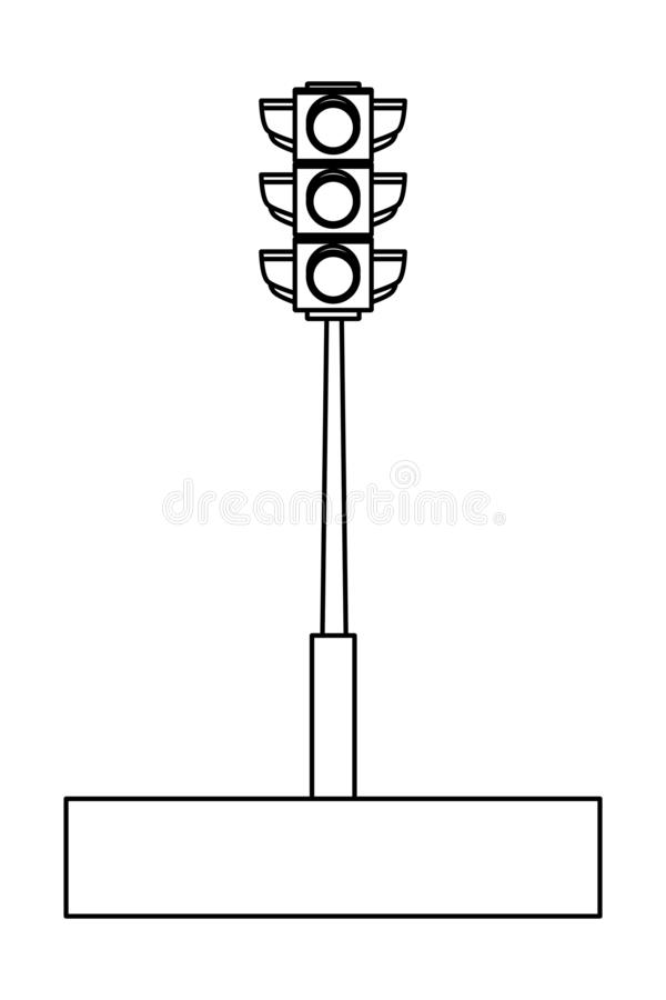 Светофор раскраска для детей респечатать бесплатно | 900x600