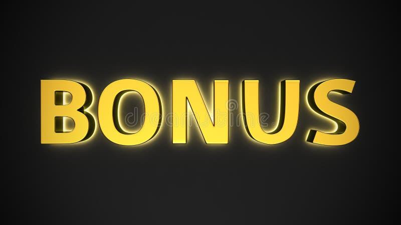 Светящий бонус бесплатная иллюстрация