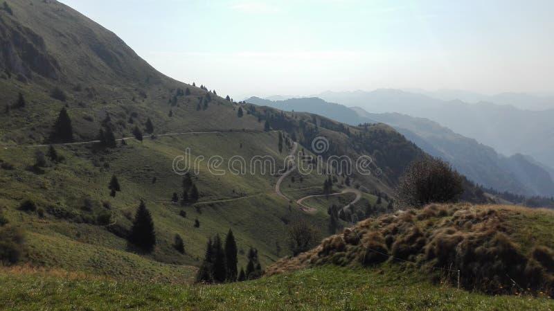 светлая гора стоковая фотография rf