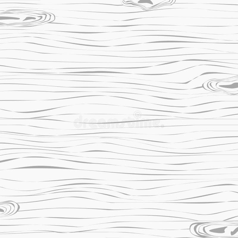 Светлая деревянная палуба разделочной доски или таблицы Деревянная текстура иллюстрация вектора