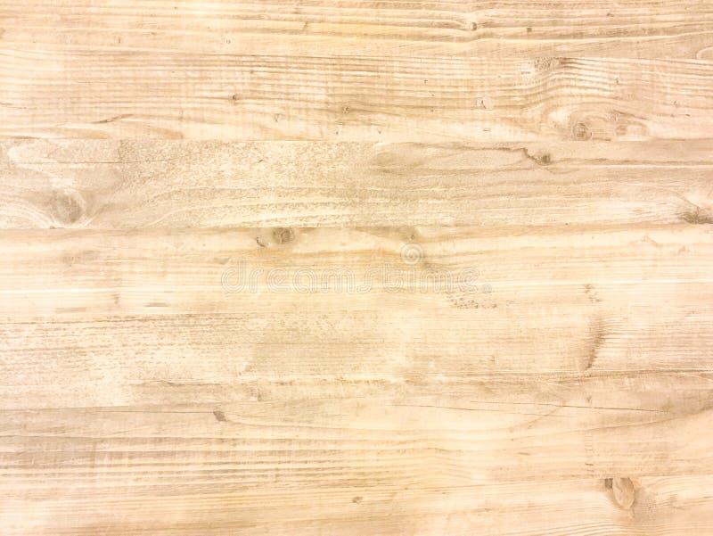 Светлая деревянная поверхность предпосылки текстуры с старой естественной картиной или старым деревянным взглядом столешницы текс стоковая фотография