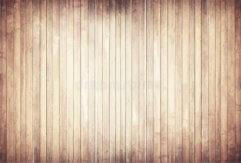 Светлая деревянная текстура с вертикальным полом планок бесплатная иллюстрация