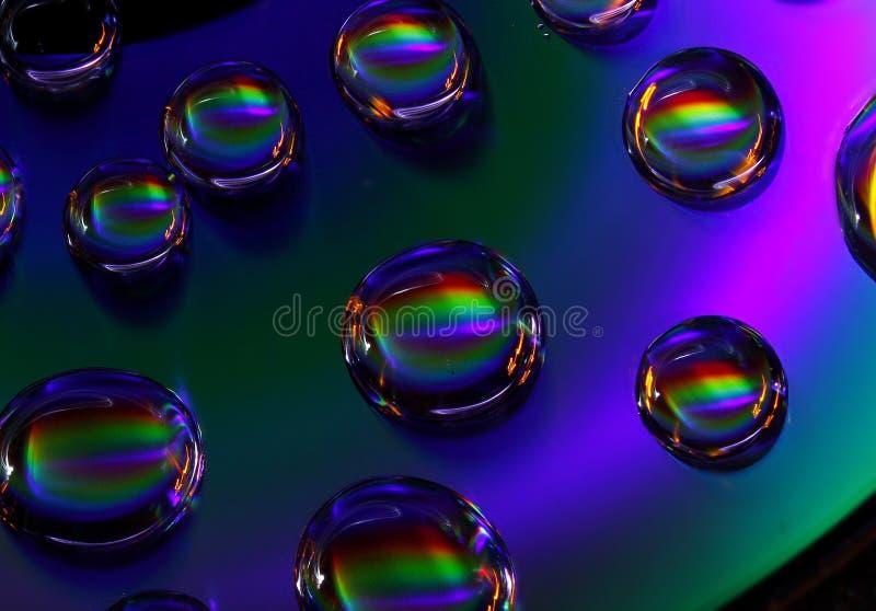 Светлая картина используя c d стоковое изображение
