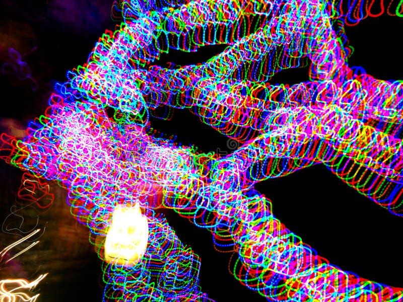 Светлая картина с много красочных шариков стоковая фотография