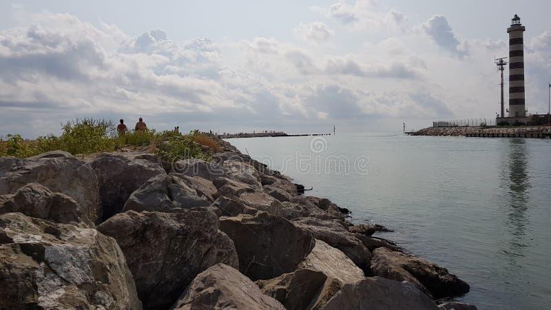 Свет воды моря солнечный стоковые фотографии rf