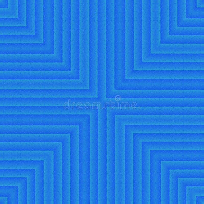 Свет - голубая абстрактная картина калейдоскопа, предпосылка голубого неба раскосная винтажная иллюстрация штока
