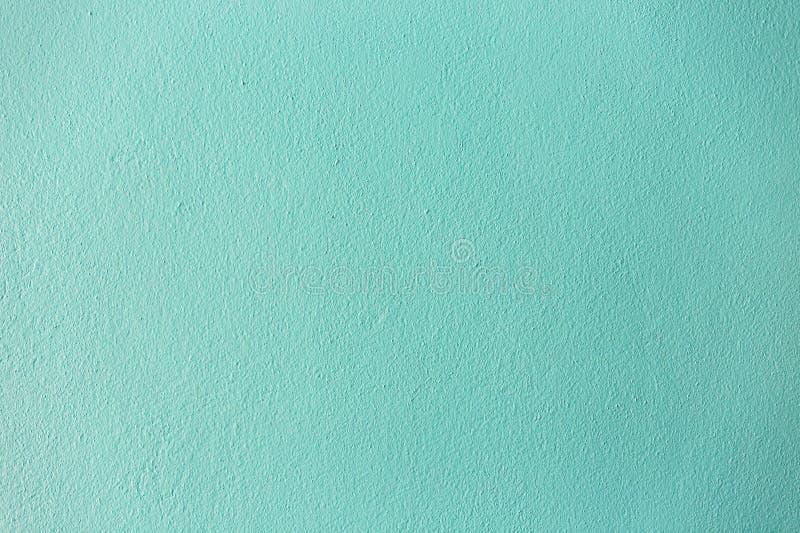 Свет - голубая бетонная стена цвета и нефрита стоковое фото