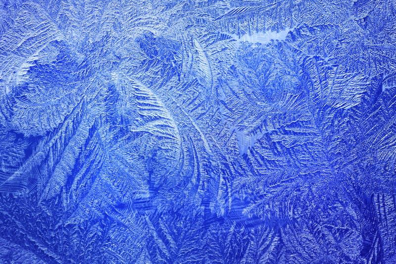 Свет - голубая картина заморозка стоковые изображения