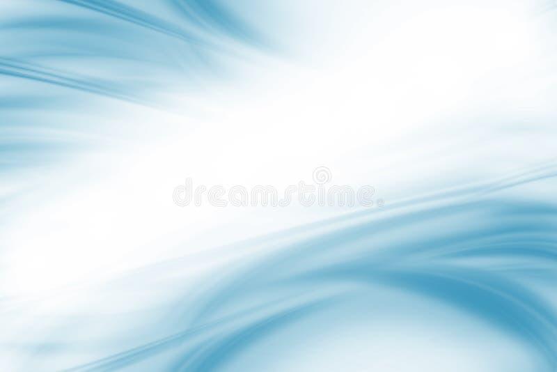Свет - голубая предпосылка иллюстрация штока