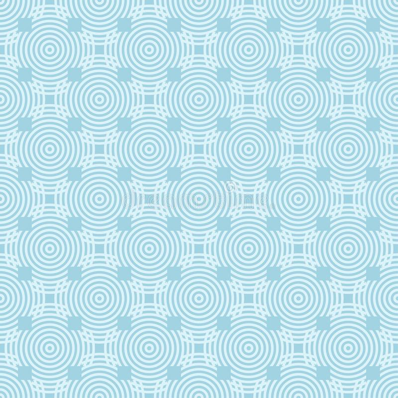 Свет - голубой геометрический орнамент картина безшовная бесплатная иллюстрация