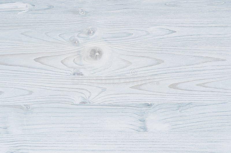 Свет - голубая винтажная деревянная текстура Взгляд сверху, деревянная доска стоковое изображение