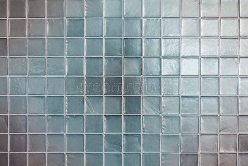 Свет - голубая текстура стены плиток стоковые изображения rf