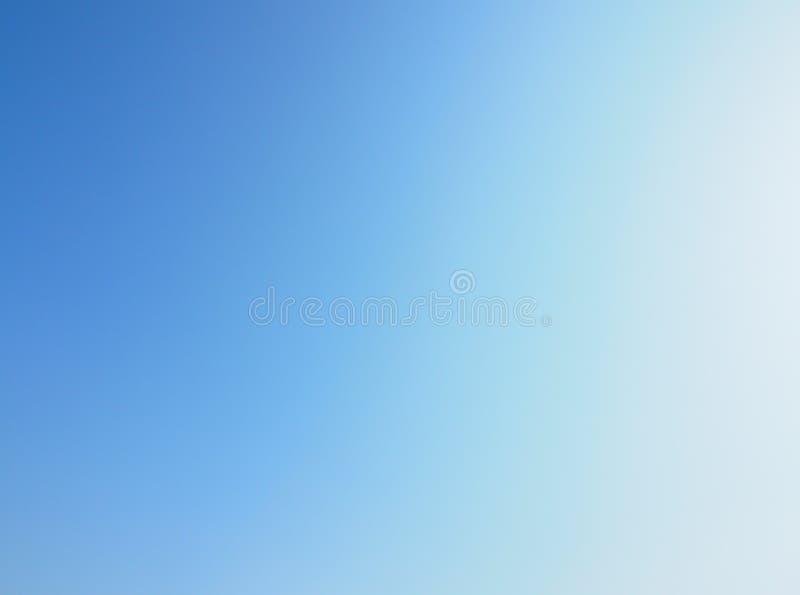 Свет градиента - предпосылка обоев голубого неба стоковые изображения rf