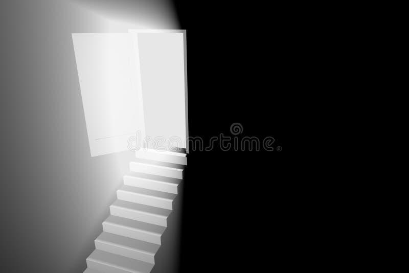 свет двери бесплатная иллюстрация