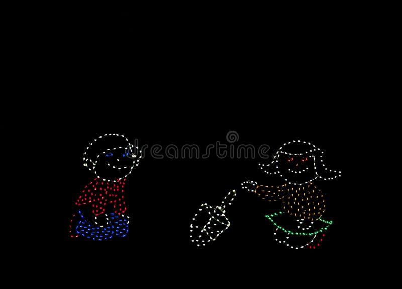 свет дисплея Стоковые Изображения RF
