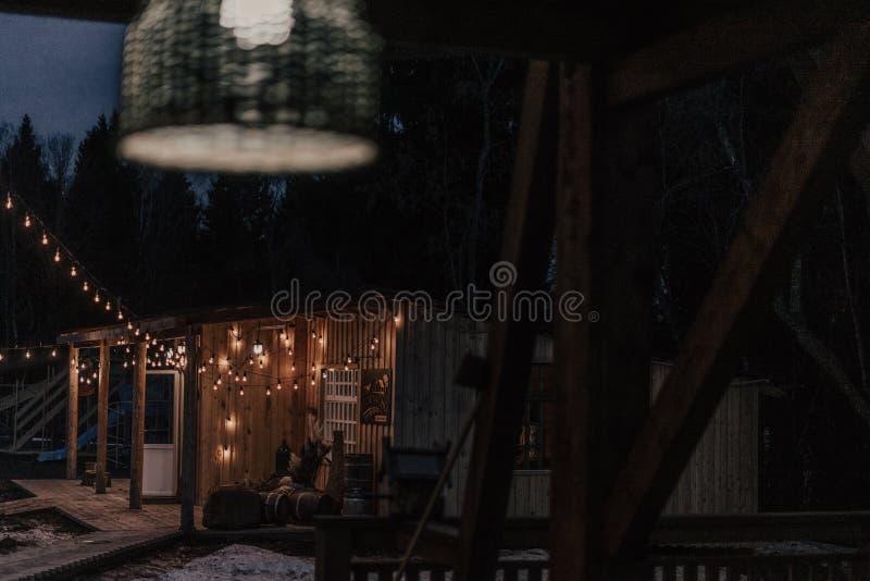 Свет для ночного дома стоковые фото