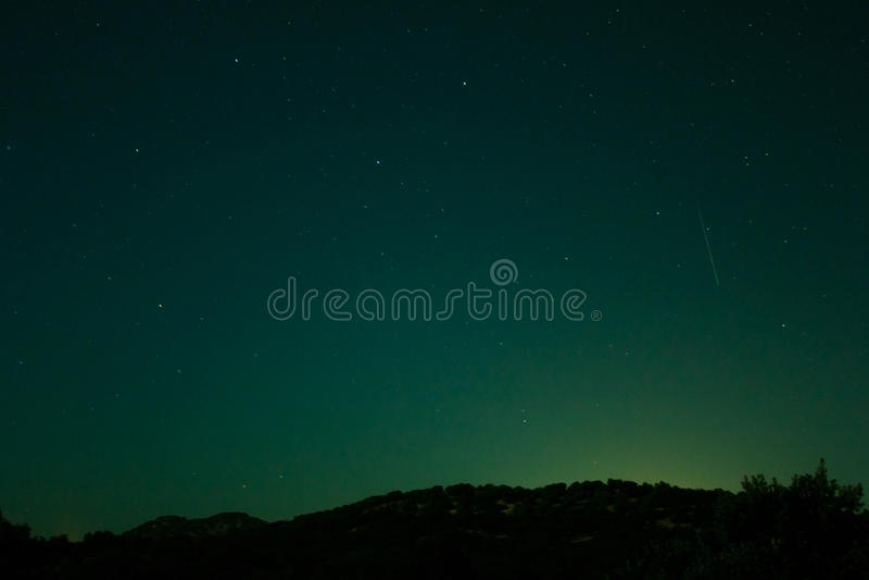Свет звезды стоковое фото