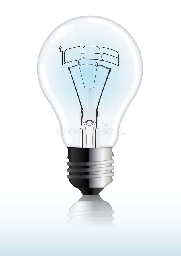 свет идеи шарика бесплатная иллюстрация