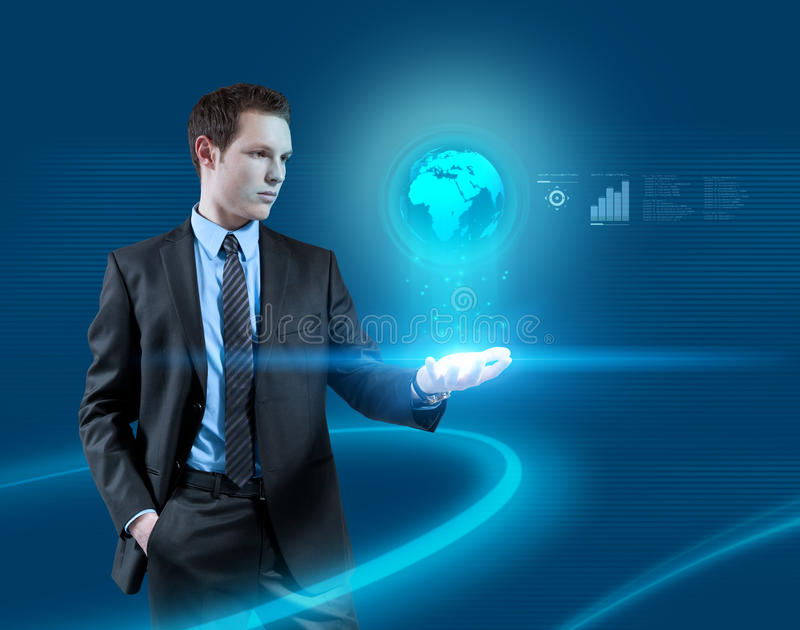 свет интерфейсов glowworms иллюстрация штока