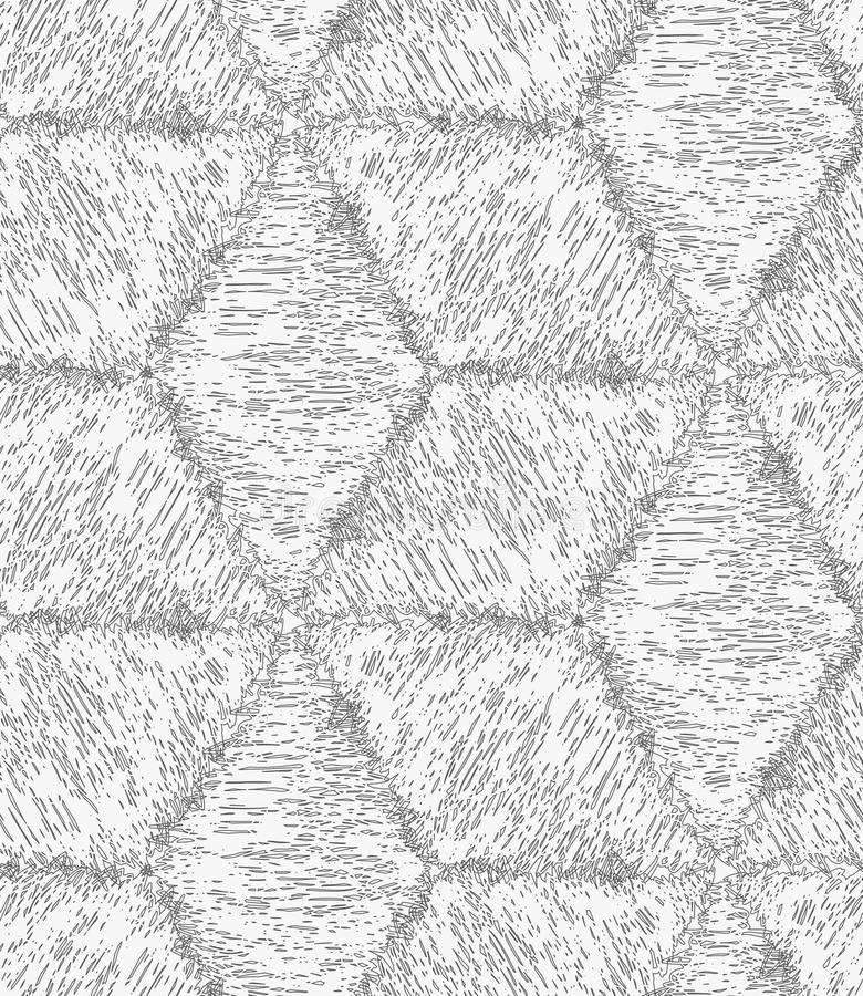 Свет насиженный карандашем - серые кубы иллюстрация штока
