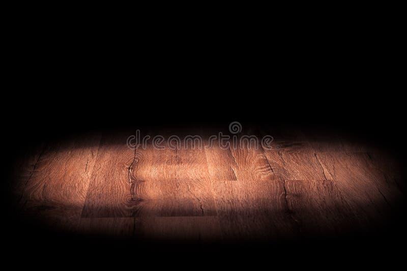 Свет на деревянном стоковое фото rf